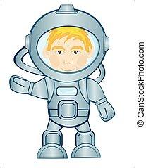 空間, 太空人, 衣服