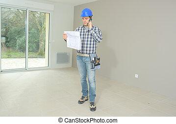 站點, 建造者, 建設, 工程師