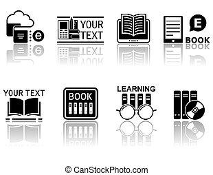 符號, 概念, 書, 反映