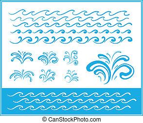 符號, 裝置設計, 波浪