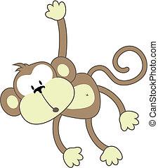 笨蛋, 猴子