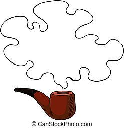 管子, 抽煙