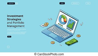 管理, 投資, 戰略, 文件夾