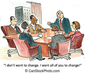 管理, 變化