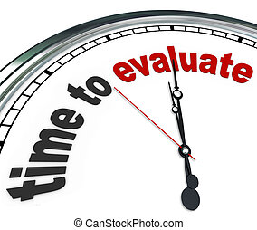 管理, 鐘, 評价, 回顧, 時間, 評估, 或者
