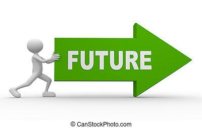 箭, 詞, 未來