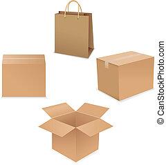 箱子, 發貨