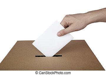 箱子, 選擇, 選舉, 投票, 政治, 投票, 選票