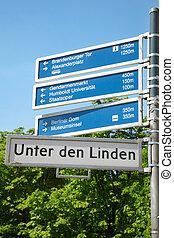 簽署, 柏林, 路, touristic