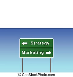 簽署, marketing., 戰略