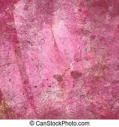 粉紅色, 摘要, grunge, 背景, textured