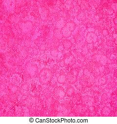 粉紅色, 海綿狀, grunge, 背景, textured