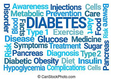 糖尿病, 詞, 雲