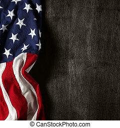 紀念 旗子, 天, 美國人, 7月4 日, 或者