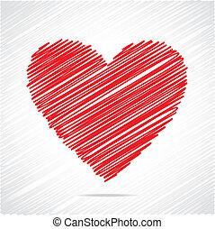 紅的心, 略述, 設計