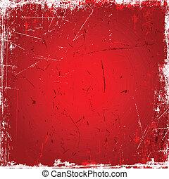 紅的背景, grunge