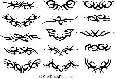 紋身, 符號, 設計