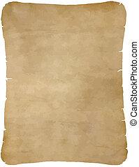 紙, 老, 羊皮紙