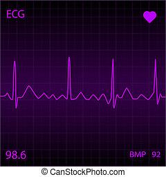紫色的心, 監控