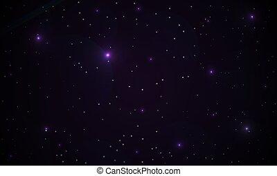 紫色, 摘要, 星系, 背景
