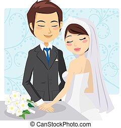 結婚, 僅僅