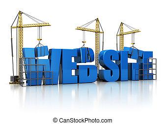 網站, 建築物
