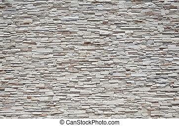 緊緊, 石頭, 平板, 牆, 充分, 沙岩, 框架, 堆積
