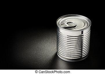 罐頭, 金屬