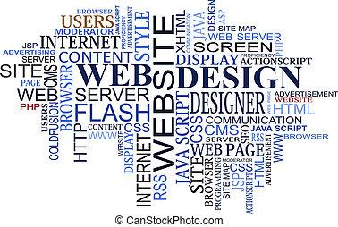 网設計, 雲, 記號