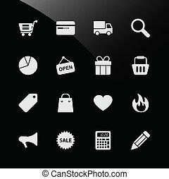 网購物, ecommerce, 圖象