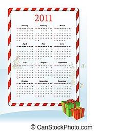 美國人, 矢量, 日曆