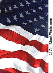 美國旗, 垂直, 看法