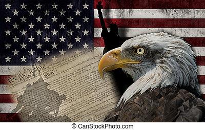 美國旗, 紀念碑
