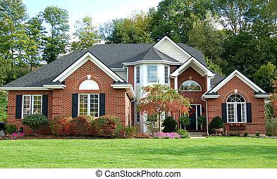 美麗, 房子
