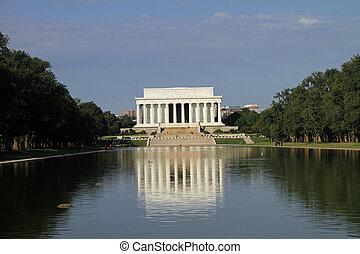 美麗, 林肯紀念館