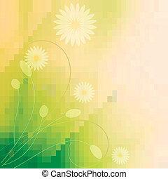 美麗, 植物, 背景