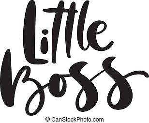 老板, 被隔离, 印刷品, white., t恤衫, 很少, 現代, 卡片, 問候, 設計, 嬰孩, text., 鋼筆, 孩子, 孩子, 引用, 刷子, 畫, 手, 邀請, 書法, 字母, 矢量