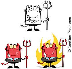 老板, 3, 魔鬼, characters., 彙整