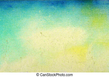老, 藍色, paper:, 摘要, 圖樣, 黃色, 綠色, 原色嗶嘰, textured, 背景, background:
