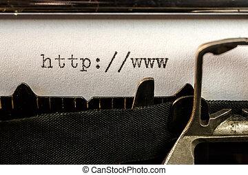 老, url, 正文, 寫, 開始, 打字机
