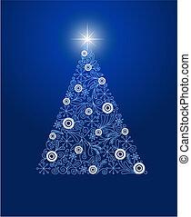 聖誕節, 裝飾, 樹