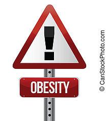 肥胖症, 概念, 交通, 路標