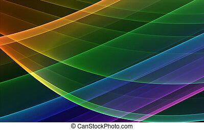 背景, 多种顏色