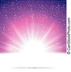 背景, 摘要, 魔術, 光