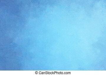 背景, 藍色
