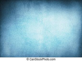 背景, grunge, 藍色