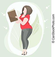 胖乎乎, 婦女讀物, 書