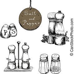 胡椒, 鹽
