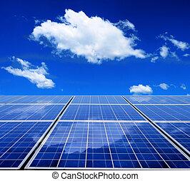 能量, 太陽面板