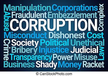 腐敗, 詞, 雲